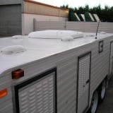 Evaporative Cooler on a New Trailer